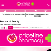 Festival of Beauty: 1/2 Price Health & Beauty Catalogue @Priceline Pharmacy Deal Image
