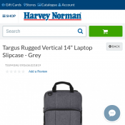"Targus Rugged Vertical 14"" Laptop Slipcase - Grey $25 (RRP $65) Deal Image"