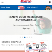 Costco - Latest Coupons - Valid until Sun, 1st April  Deal Image