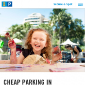 Easter Special: 25% Off Hourly Parking with code @Secure Parking