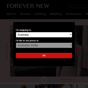 Mid Season Sale: Up to 93% Off @Forever New Deal Image