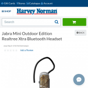 Jabra Mini Outdoor Edition Realtree Xtra Bluetooth Headset for $35 Deal Image