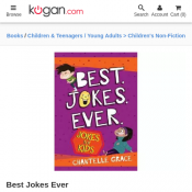 Best Jokes Ever Book $9.65 + Free Shipping Deal Image
