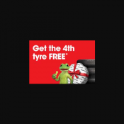 Buy 3 Tyres & Get the 4th FREE @Bridgestone Deal Image