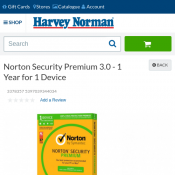 Norton Security Premium 3.0 - 1 Year 1 Device Get 20% OFF $35 Deal Image