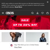 Asos Sale up to 50% OFF  Deal Image