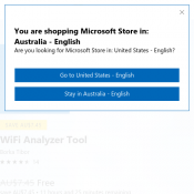 FREE 'WiFi Analyzer Tool' (RRP $7.45) @Microsoft Store  Deal Image