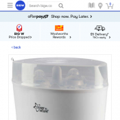 Tommee Tippee Electric Steam Steriliser $104.25  Deal Image