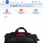 Caribee 70cm Adventurer Trolley Bag (black) $40 Deal Image