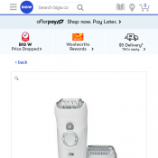 Braun Silk-Epil 7 Wet & Dry Epilator $131.40 Deal Image