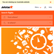 Friday Fare Frenzy: Domestic Flights from $35 @Jetstar Deal Image