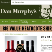2+2+2 Iconic Australian Shiraz Bundle $89 @Dan Murphy's Deal Image