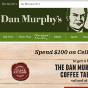 FREE Dan Murphy Story Coffee Table Book, Worth $49.99  with minimum spend $100 with code  Deal Image