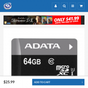 ADATA 64GB SDXC UHS Class 10 Memory Card $25.99 Deal Image
