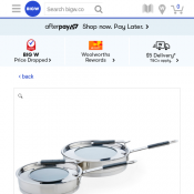 Wiltshire Smart Stack 2 Piece Frypan Set $99 Deal Image