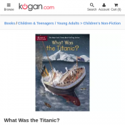 What Was the Titanic? by Stephanie Sabol $9.40 Deal Image
