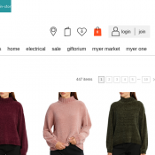 50% OFF Selected Knitwear for women and men @Myer Deal Image