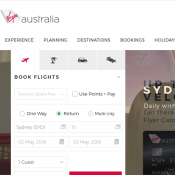 5% Off Domestic Flight Fares @Virgin Australia Deal Image