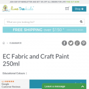 EC Fabric and Craft Paint 250ml AU$2 Deal Image