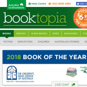 Free Shipping All Orders minimum spend $17 @Booktopia Deal Image