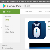 Free Android App WiFi Mouse HD (RRP $7.99) @Google Play Deal Image