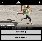 20% Off Outlet Items + Free Shipping @Adidas Deal Image