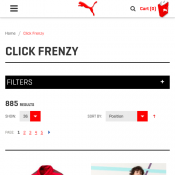 PUMA Click Frenzy - Prices start from $12.50 Deal Image