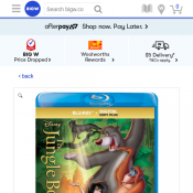Jungle Book Blu-ray $15 (50% off) Deal Image