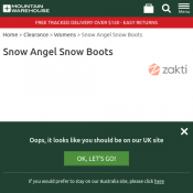 Snow Angel Snow Boots Now $35.99 Deal Image