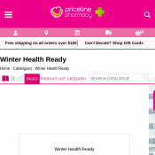 Winter Health Ready Catalogue @Priceline Pharmacy Deal Image