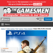Sniper Elite III [Pre-Owned] $18.00  Deal Image
