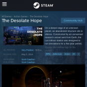 Free Game The Desolate Hope @Steam Deal Image