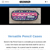 Bonne Graphics Pencil/Makeup Cases - Buy 1 Get 1 Free Deal Image