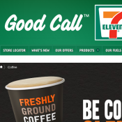 7-11 Coffee $1 Regular, $2 Large, $3 Super large Deal Image