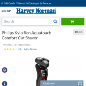 Philips Kylo Ren Aquatouch Comfort Cut Shaver CLEARANCE $99 Deal Image