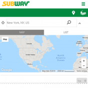 FREE Cookie with Mesquite Chicken Subway Footlong Sub & any Drink @Subway Deal Image