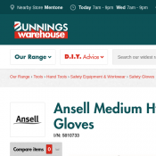 Ansell Medium Hyflex General Purpose Gloves $4.15 @Bunnings Deal Image