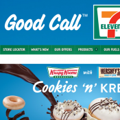 7-Eleven App - $1 Choc Bar, $1.50 Cookie, $3 Spiced Pumpkin Roll, $4 Ready Meal Deal Image