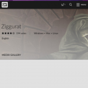 Ziggurat for Free PC/Mac/Linux (RRP $14.99) Deal Image