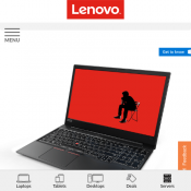 Lenovo - ThinkPad E580 $829 (RRP $1499) Deal Image