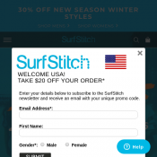 Take a Further 30% Off New Season Winter Styles @SurfStitch Deal Image