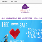 Final Toy Stocktake Sale LEGO up to 20% of Deal Image