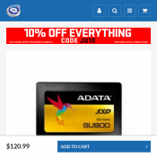 ADATA Ultimate SU900 Serial ATA III internal solid state drive NOW $120.99 Deal Image