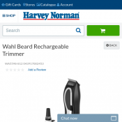 Wahl Beard Rechargeable Trimmer $24.95 Deal Image