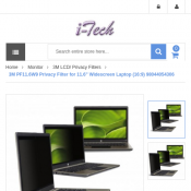 "3M PF11.6W9 Privacy Filter for 11.6"" Widescreen Laptop $39.00 Deal Image"