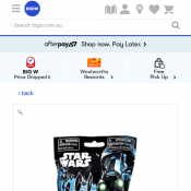 Star Wars Helmet Bag Clip Blind Bag $0.20 Deal Image
