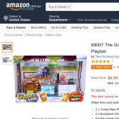 The Grossery Gang Yucky Mart Playset $4.99 Deal Image