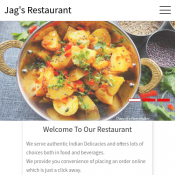 Get 35% OFF On All your Orders with Jag's Restaurant