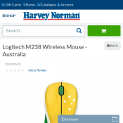 Logitech M238 Wireless Mouse - Australia $18