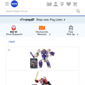 Transformers Generations Voyager Titans Return - Assorted* $15.00  Deal Image